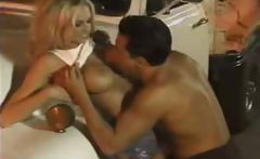 Briana Banks garage fuck