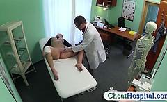 Doctors cock heals hot blondes injury
