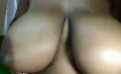 Thick Ebony Cam Girl With Huge Breasts