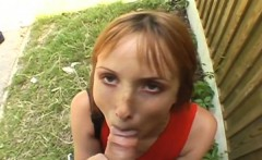 Outdoor picnic with fucking