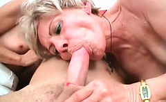 Horny mature sluts are very hungry for some younger cock