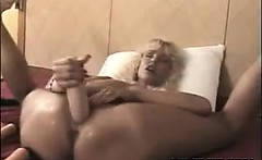 MILF Penetrating Her Loose Holes