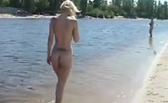 Sexy Nudists At The Beach