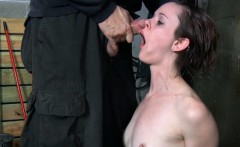 Mouth Gagged Slut Handling Machine Fuck