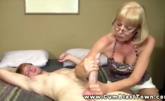 Mature amateur wants cum from dick in hd