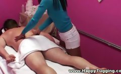 Hottest asian masseuse rubbing client and cant get enough