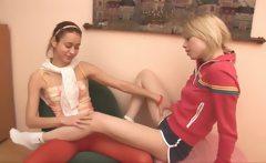 Russian Natasha and Alice at motel