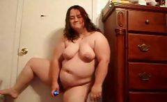 Ugly ex girlfriend gets naked and shows her body and dances