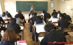Kotone Amamiya Asian teacher