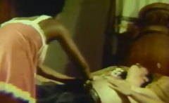 Mature Oral Games of Old Interracial Couple