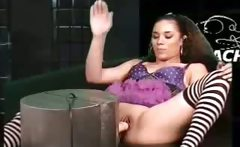 Alicia Tease Hot Ebony Fuck Machine