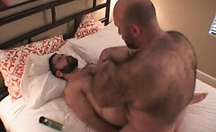 Hair gay bear porn with Don James